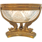 French Napoleon III Gilt Bronze bowl, ca.1860