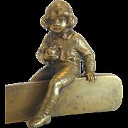Vienna Bronze paper knife, late 19th century