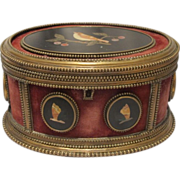 Antique Florentine  Pietra Dura casket, 19th century