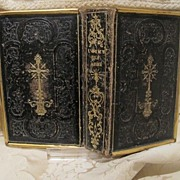 "Antique Italian prayer book ""L´asilo dell´anima"" dated at the 19th century"