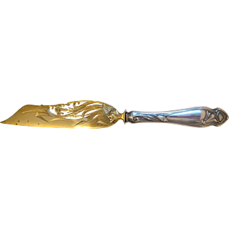 Antique cake knife, silver 800, ca. 1900