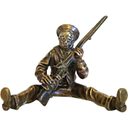 Antique Vienna Bronze figure of a soldier,19th century