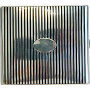 Art Nouveau silver and Niello cigarette case, ca. 1910