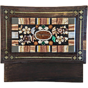 Antique Pietra Dura box, Bohemia 19th century