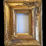 Antique gilt wood frame, 19th century