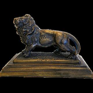 Antique Vienna Bronze paperweight, 19th century