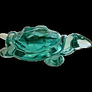 Archimede Seguso (1909- 1999) glass turtle, Murano/Italy ca. 1970