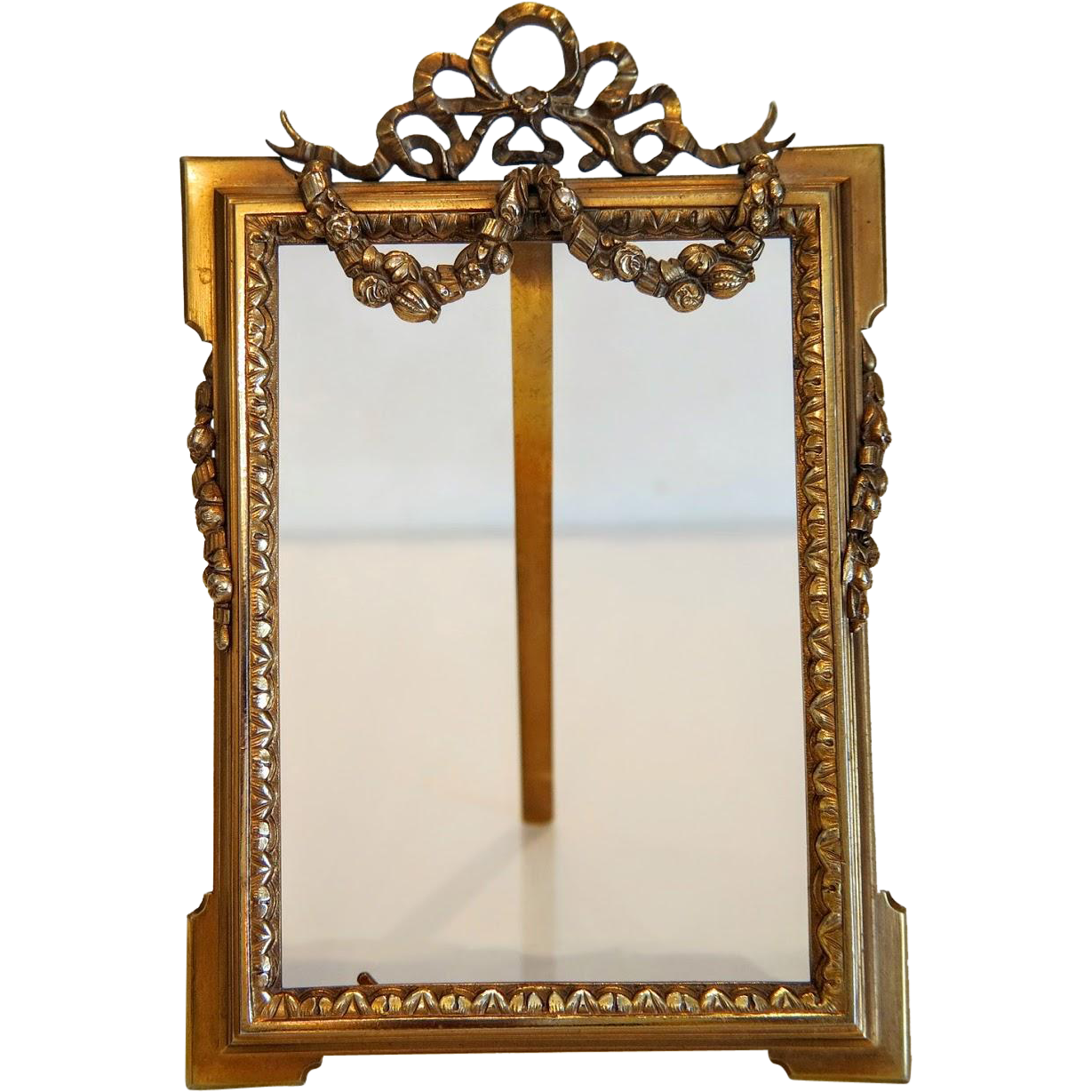 French Napoleon III Gilt Bronze frame, ca.1850