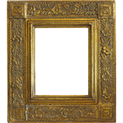 Antique Art Nouveau Gilt wood frame, ca. 1900