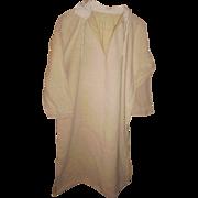 French Linen Smock or Shirt Hand Sewn