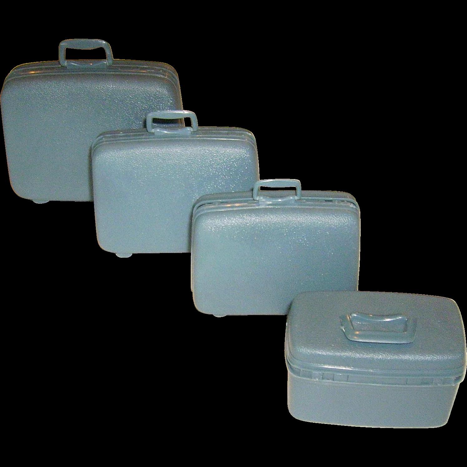 Vintage Luggage Set 5