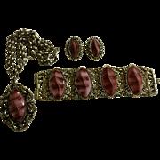 Set of Vintage Designer Costume Jewelry by Selro