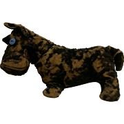 Very Old Scotty Dog Jointed Stuffed Animal