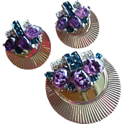 Beautiful Marcel Boucher Dress Clip & Earrings Set