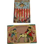 Two Vintage Fourth of July Postcards
