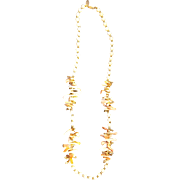 Miriam Haskell Shell, Mother of Pearl Necklace