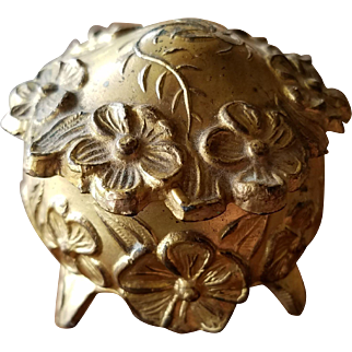 Small Art Nouveau Jewelry Casket for Ring