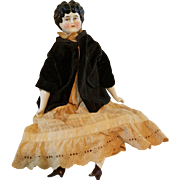 Antique China Head Doll with Original Clothes