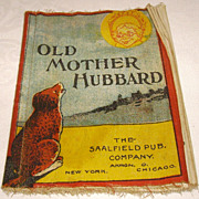 "Saalfield ""Old Mother Hubbard"" Muslin Children's Book- Peter Rabbit Series"