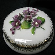 Lefton New Old Stock Trinket Box