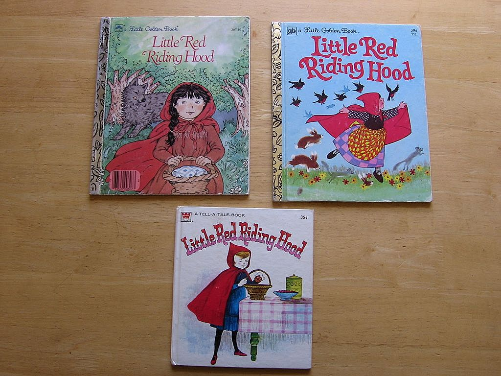 """Little Red Riding Hood"" Children Book Set"