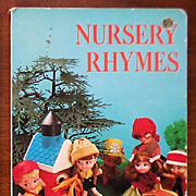 "1960s Liddle Kiddle Golden Board Book ""Nursery Rhymes"""