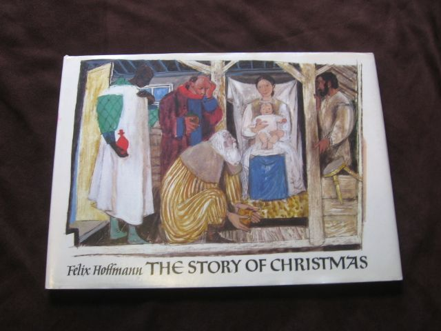 "1975 Felix Hoffmann ""The Story Of Christmas"" Children Picture Book"