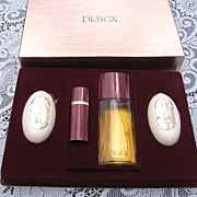 Vintage Design  P.Sebastian  Cologne Soap Set