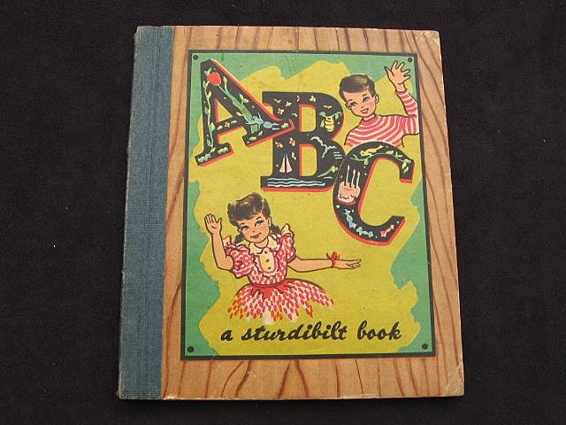 "1947 ""ABC Sturdibilt Book""  Virginia Paul Kircher"