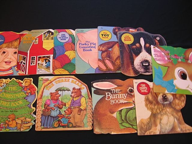 Children Golden Shape Book Set
