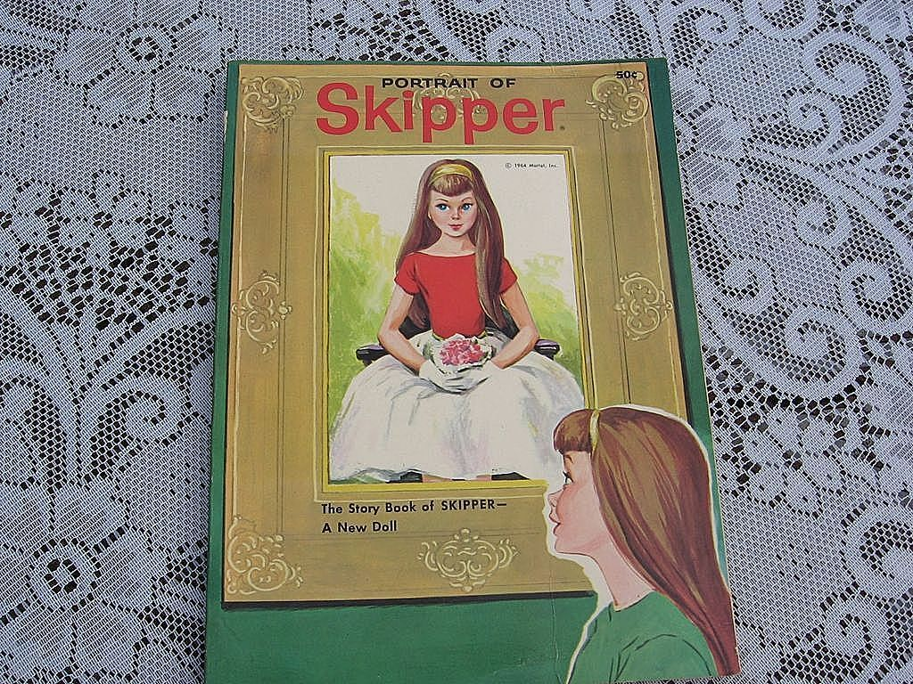 "1964  Mattel ""Portrait Of Skipper"" Story book"