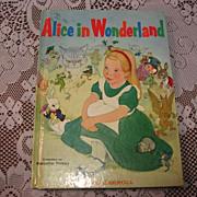 "1955 ""Alice In Wonderland"" Illustrator Majorie Torrey Children Book"