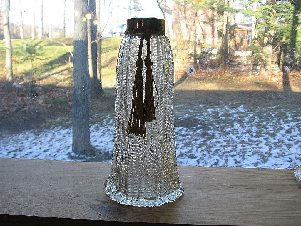 1940's Wrisley Perfume Bottle With Tassel