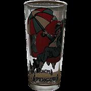 Rare 1976 Pepsi Penquin Glass