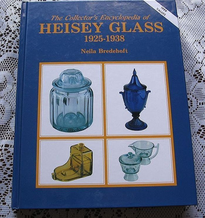 """The Collectors Encyclopedia of Heisey Glass 1925-1938"" Price Guide"