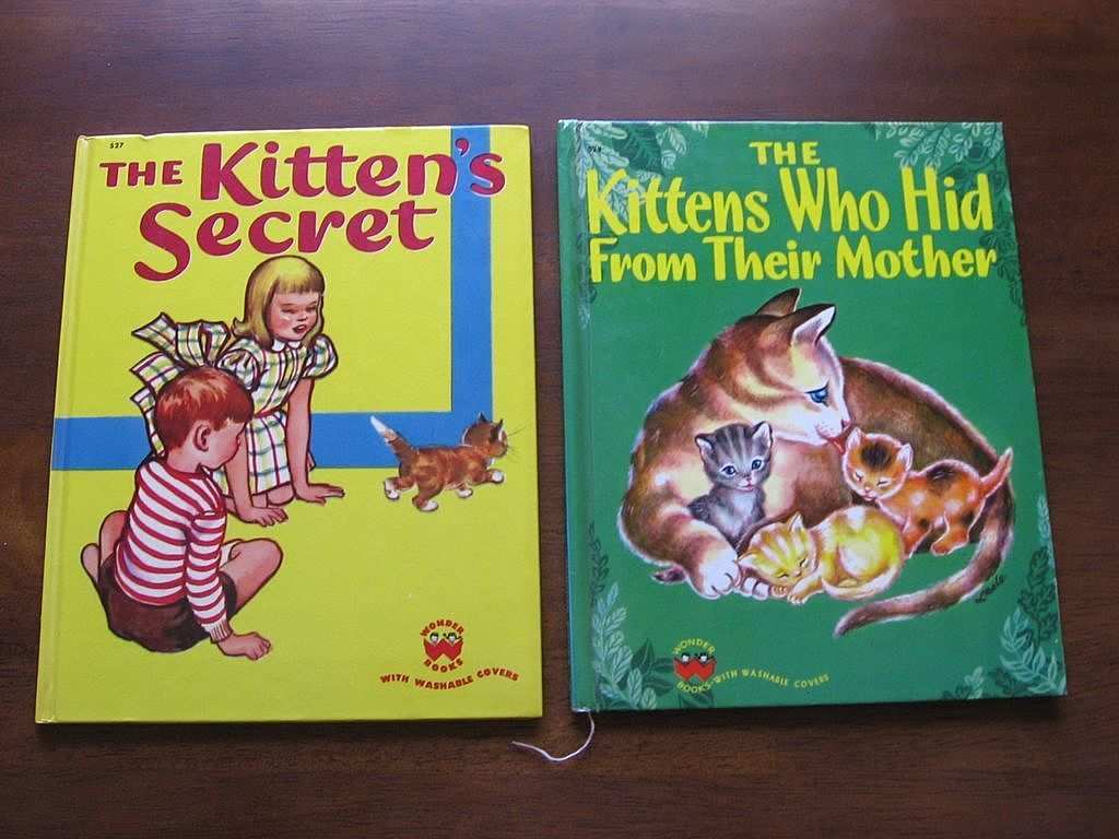 1950 First Edition Wonder Book Set Of Two