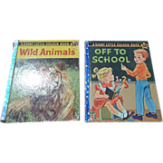 1958 Giant Little Golden Book First Edition Set