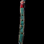 Rare Knee Hugger Pixie Elf Christmas Bells Door Hanger