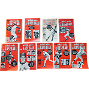 1969 - 1982 Who's Who's Who in Baseball Set of Nine