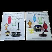 Great American Glass of the Roaring 20's & Depression Era Vol 1 & 2 Set
