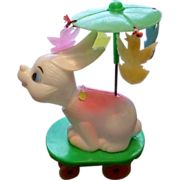 Wind Up Easter Unlimited Nodding Bunny