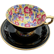 Royal Winton Grimwades Royalty Best Gold Chintz Cup and Saucer Set