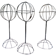 Victorian Wire Hat Stands