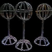 Victorian Wire Hat Stands