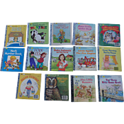 A First Little Golden Book Set Of Fourteen