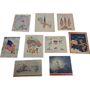 Vintage Military Christmas Card Collection