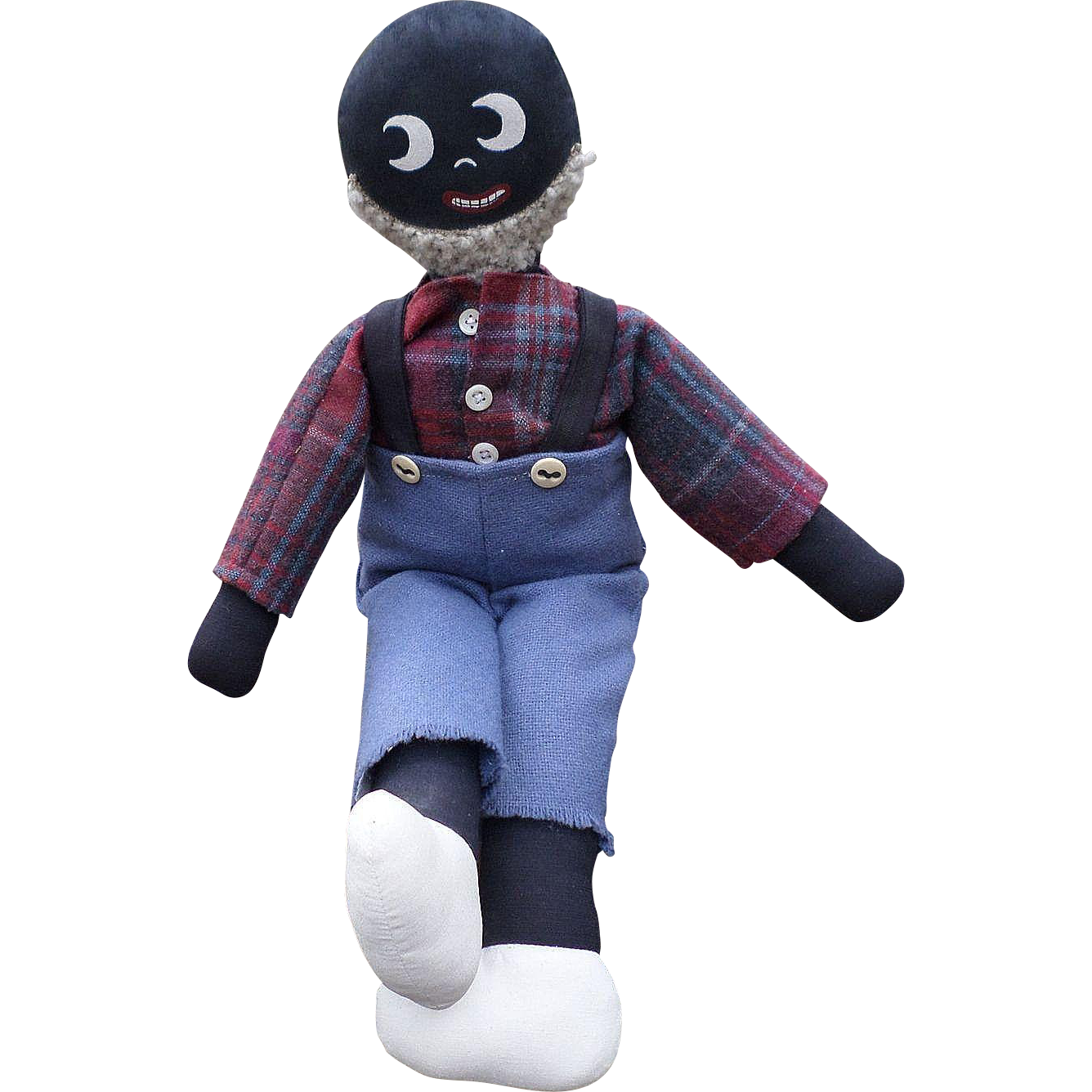 Handmade Black Americana Man Doll