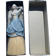 Porcelain Half Doll Brush