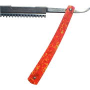 1912 Litts Colorful Straight Razor