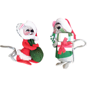 Annalee Christmas Mice Dolls